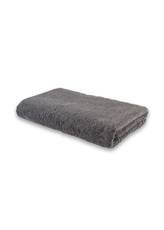 Grey color Towels . Indolinen Bath Towel Handuk Mandi Putih -