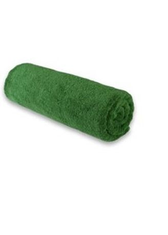 Green color Towels . Indolinen Medium Towel Handuk Mandi Besar -