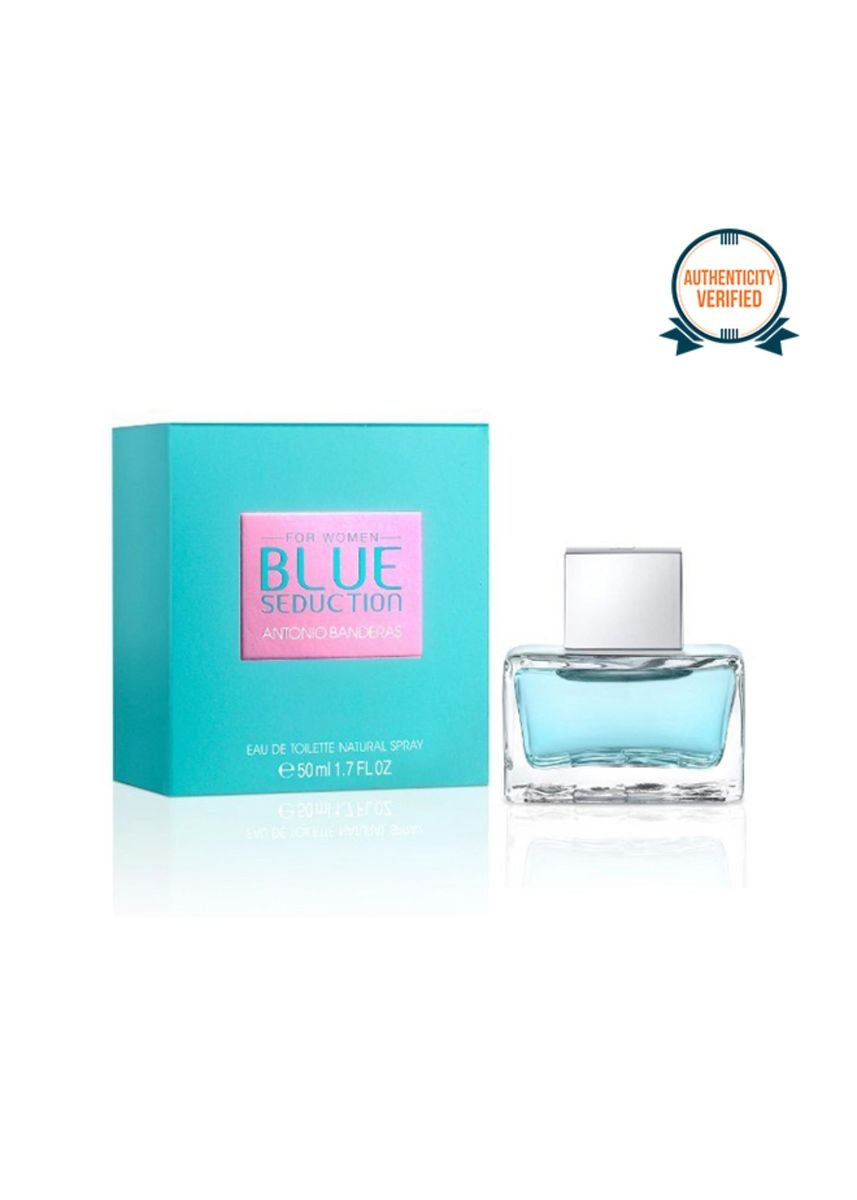 No Color color Fragrances . Antonio Banderas Blue Seduction of Woman Eau De Toilette 50ml -