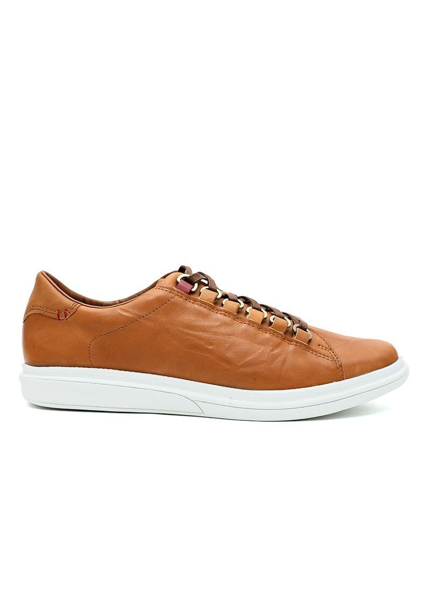 Tan color Sepatu Kasual . GINO MARIANI GREGORY 2 Exclusive Genuine Leather Men's Shoes -