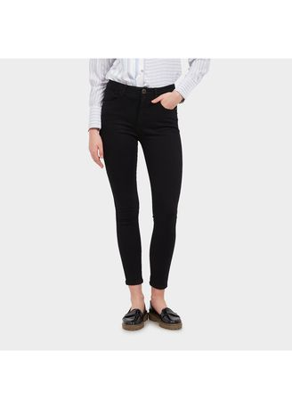 Black color Jeans . Morphidae-Dulcie Celana Denim Wanita Warna Black -
