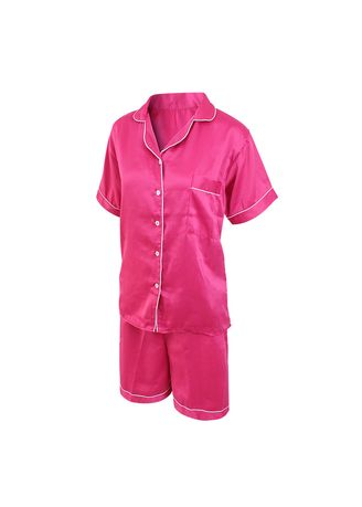 Multi color Pyjamas . Eight Piece - Piyama Sleepwear Lengan Pendek -