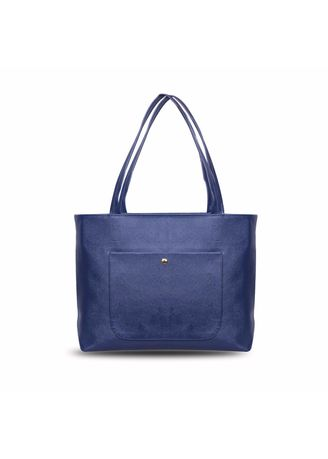 Navy color Hand Bags . Quincy - Tote Bag Ruby Pocket Free Dompet -