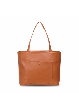 Tan color Hand Bags . Quincy - Tote Bag Ruby Pocket Free Dompet -