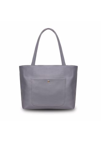 Grey color Hand Bags . Quincy - Tote Bag Ruby Pocket Free Dompet -