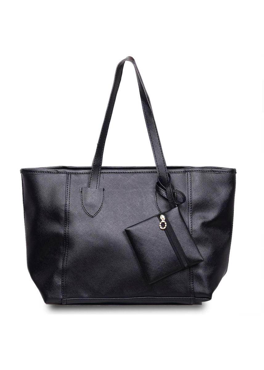 Black color Hand Bags . QuincyLabel Tote Bag Giselle -