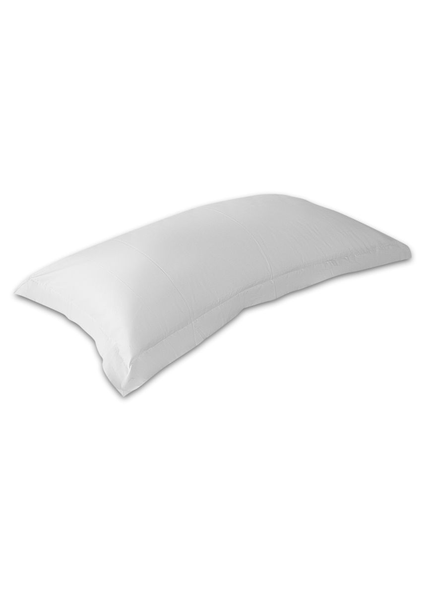 White color Bedroom . Indolinen Pillow Case Frame Sarung Bantal Hotel 50x95 -