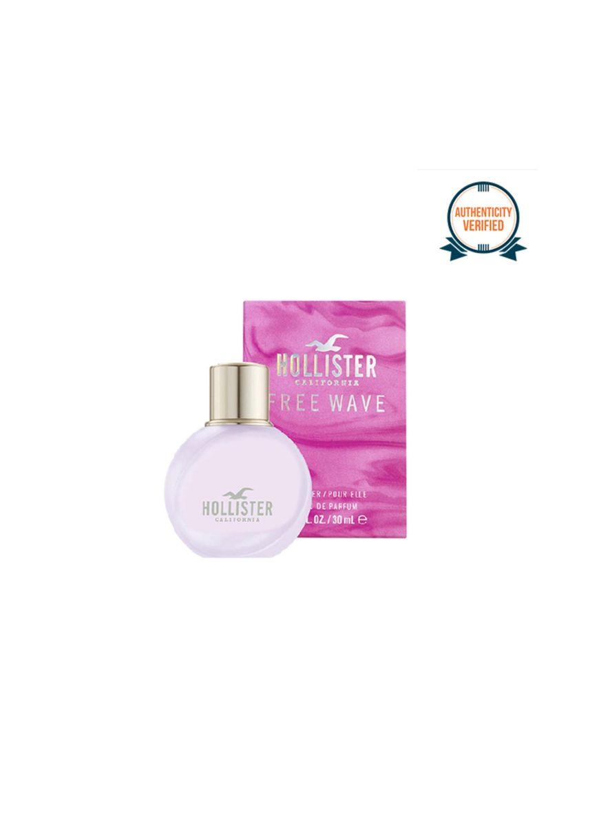 No Color color Fragrances . Hollister free Wave for Her Eau De Parfum 30ml -