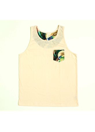 Pink color  . S107 Eagle Haze with Printed Pocket Top Tank -