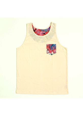 Pink color  . S107 Pinky Birds with Printed Pocket Top Tank -