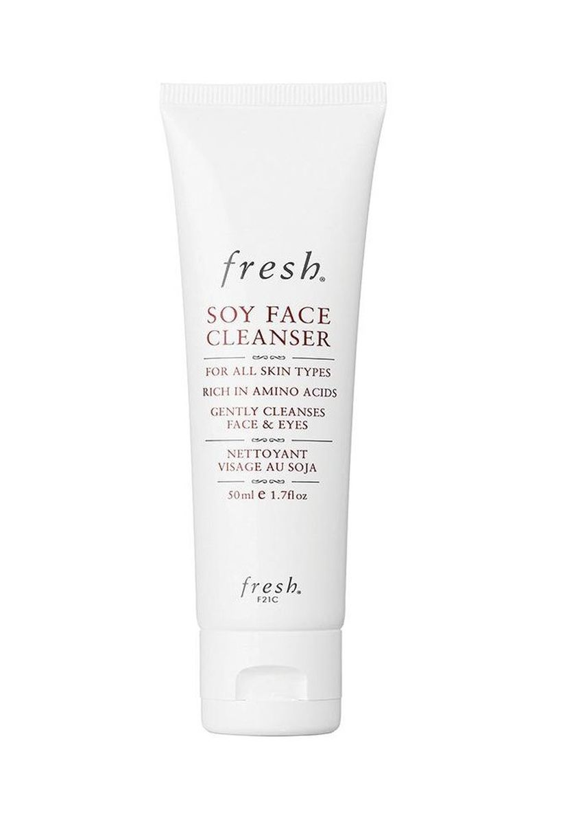 No Color color Face Wash . Fresh Skin Soy Face Cleanser 150ml -