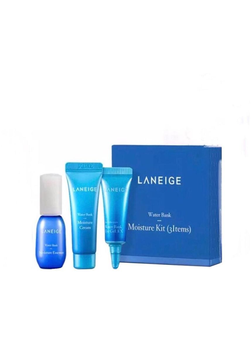 No Color color Moisturizers . Laneige Water Bank Moisture Kit (3 Items) -