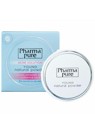 No Color color Face . Pharma Pure Acne Solution Young Natural Powder -