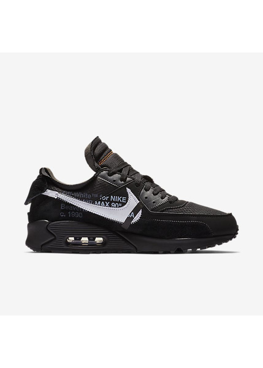 Black color Casual Shoes . Nike x Off White Air Max 90 Black -