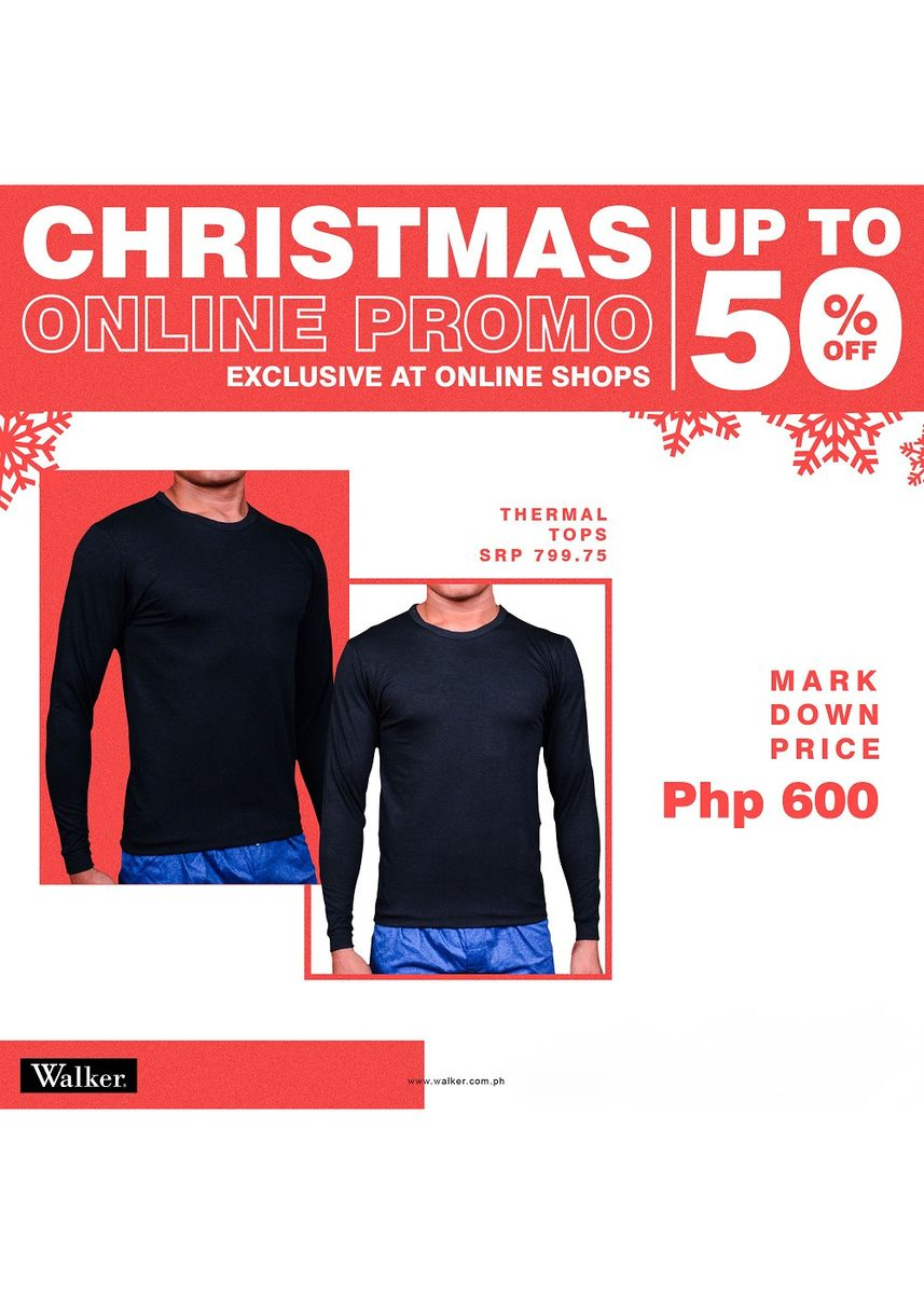 Black color T-Shirts and Polos . Walker Thermatex Top -
