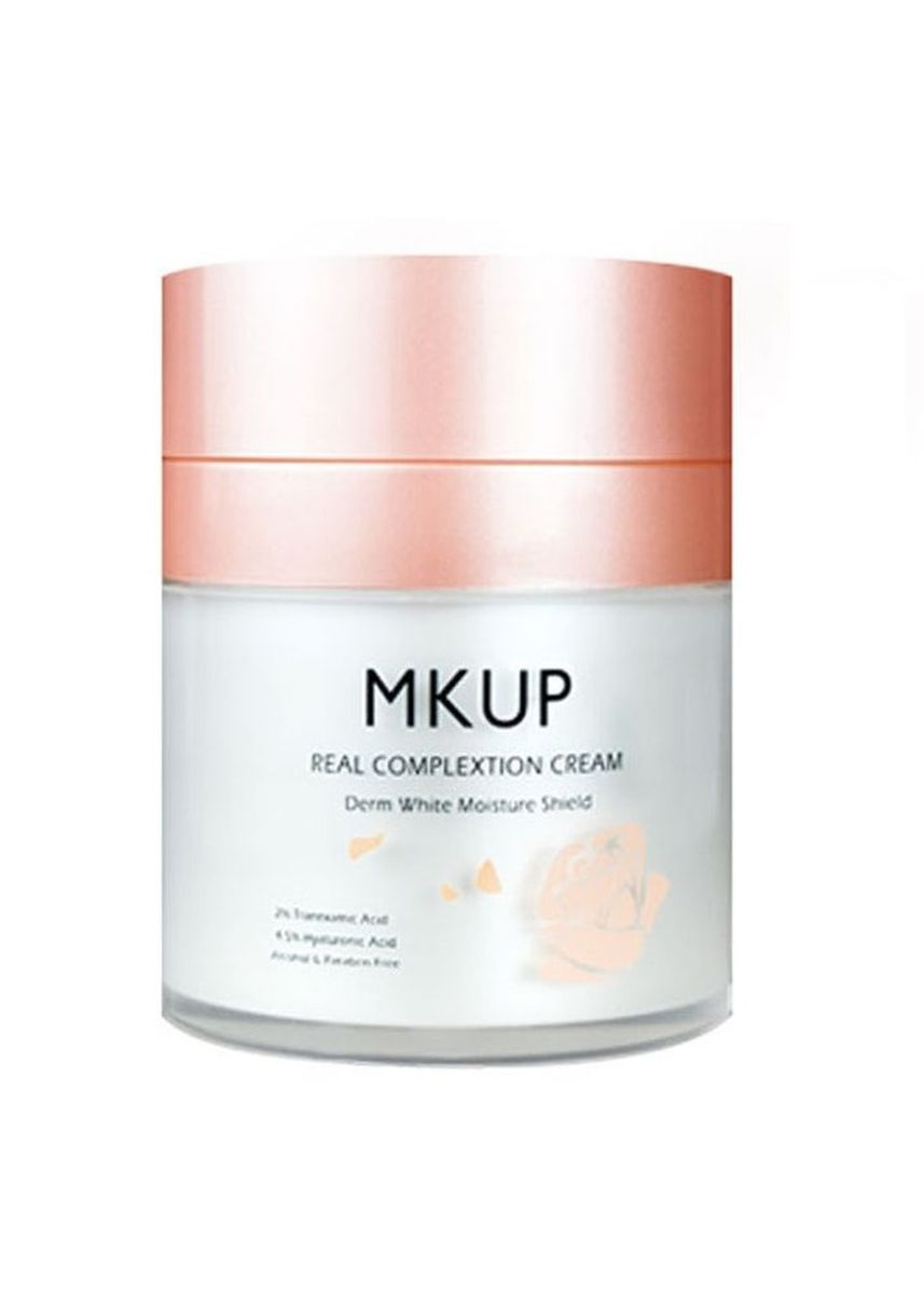 No Color color Whitening & Brightening . MKUP® Real Complexion Cream - 50ml -