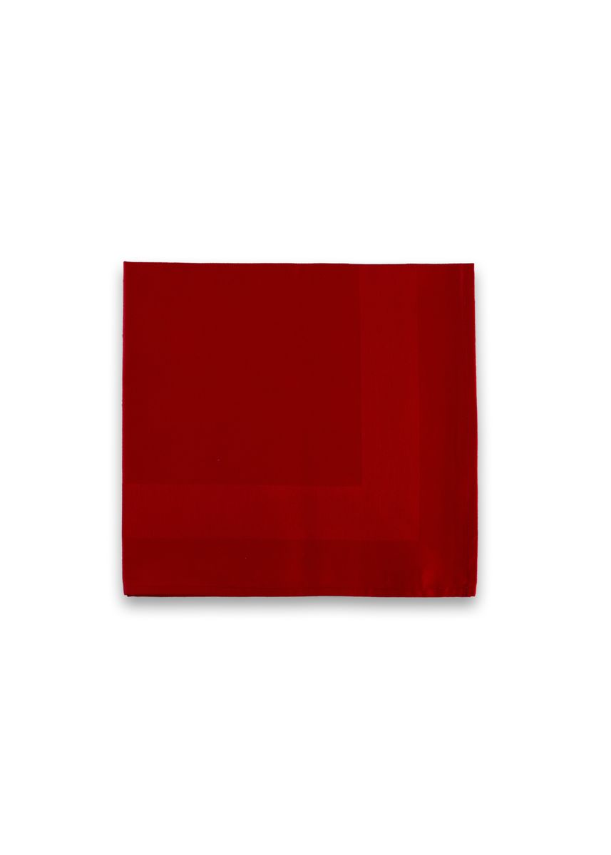 Red color Kitchen . IndoLinen Serbet Makan / Napkin isi 4 -