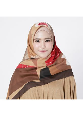 Zoya Hijab - Aby Scarf Dark Brown 1b15d01025