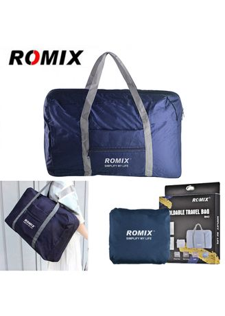 ROMIX RH43 Foldable Water Resistant Nylon Travel Luggage Bag - Blue ... 6257d1ceaa5bb