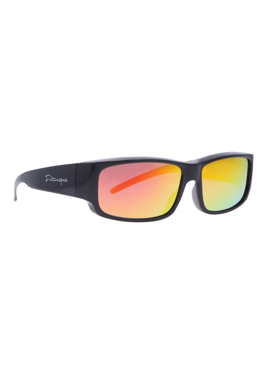 Black color Sunglasses . Fitoverspecs Fit Over Wear Over Sunglasses - FS1R -