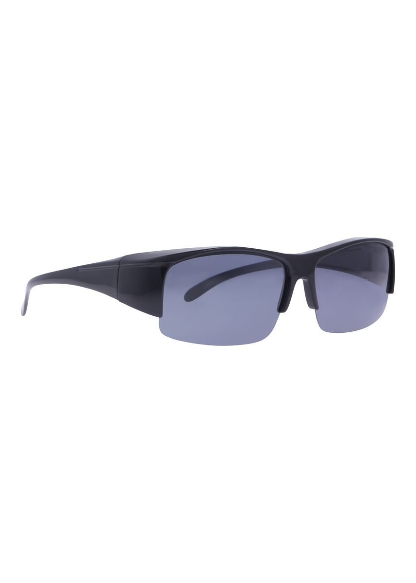 Black color Sunglasses . Fitoverspecs Fit Over Wear Over Sunglasses - FS6 -