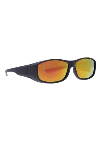 Black color Sunglasses . Fitoverspecs Fit Over Wear Over Sunglasses - FS5O -