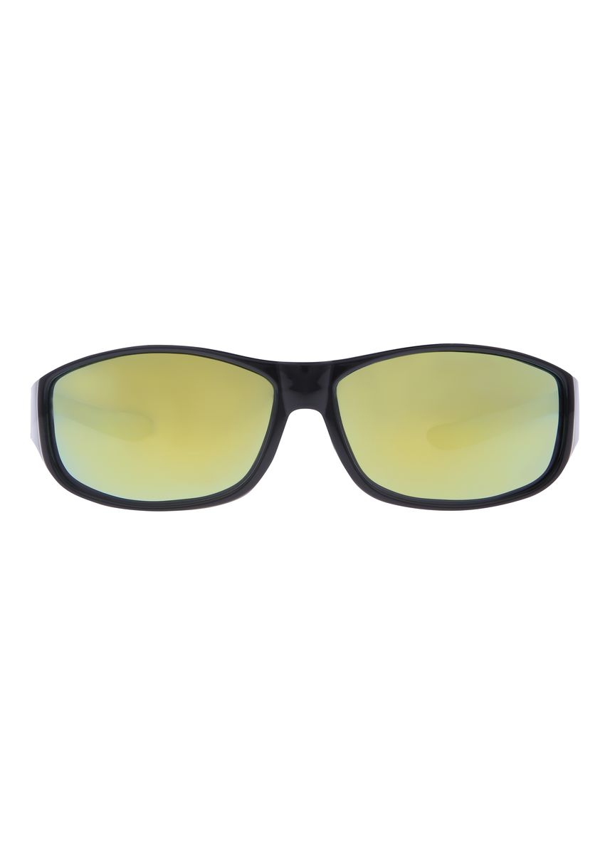 Black color Sunglasses . Fitoverspecs Fit Over Wear Over Sunglasses - FS5G -