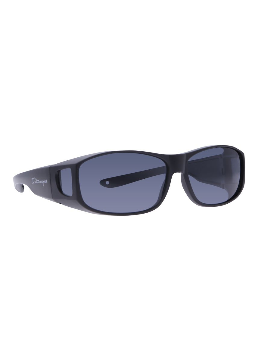 Black color Sunglasses . Fitoverspecs Fit Over Wear Over Sunglasses - FS7 -