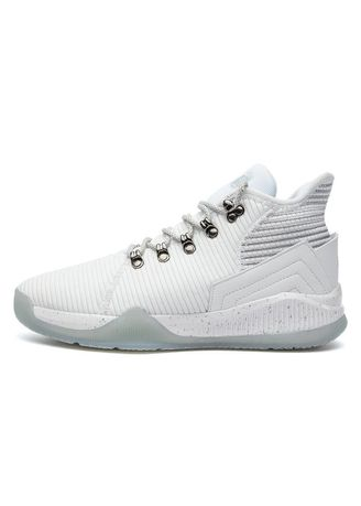 White color Sports Shoes . Men's Concept High-top Basketball Sports Shoes -