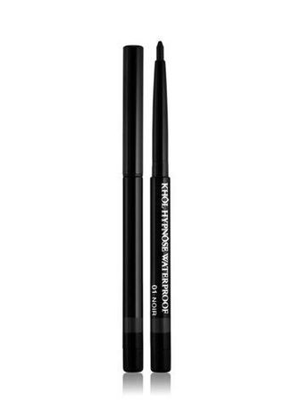 Black color Eyes . Lancome Khol Hypnose Waterproof Mascara -