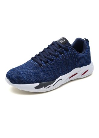 Sports Shoes . Men's Shoes Fashion Trend Flying Woven Mesh Breathable Casual Sports -