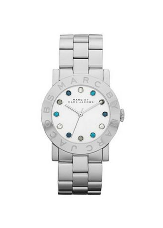 Silver color Chronographs . Marc By Marc Jacobs MBM3140 Amy Silver Womens Watch -