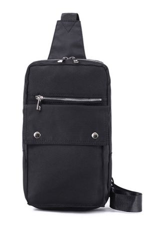 Black color Messenger Bags . POTEL Travel Crossbody Bag -
