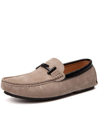 Khaki color Casual Shoes . men casual shoes handmade fashion comfortable  breathable -
