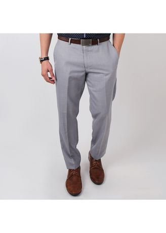 8dca9212e4 IDENTITY Men s Stylish Corporate Wear Office Pants Slim Fit Straight Slack  Trousers