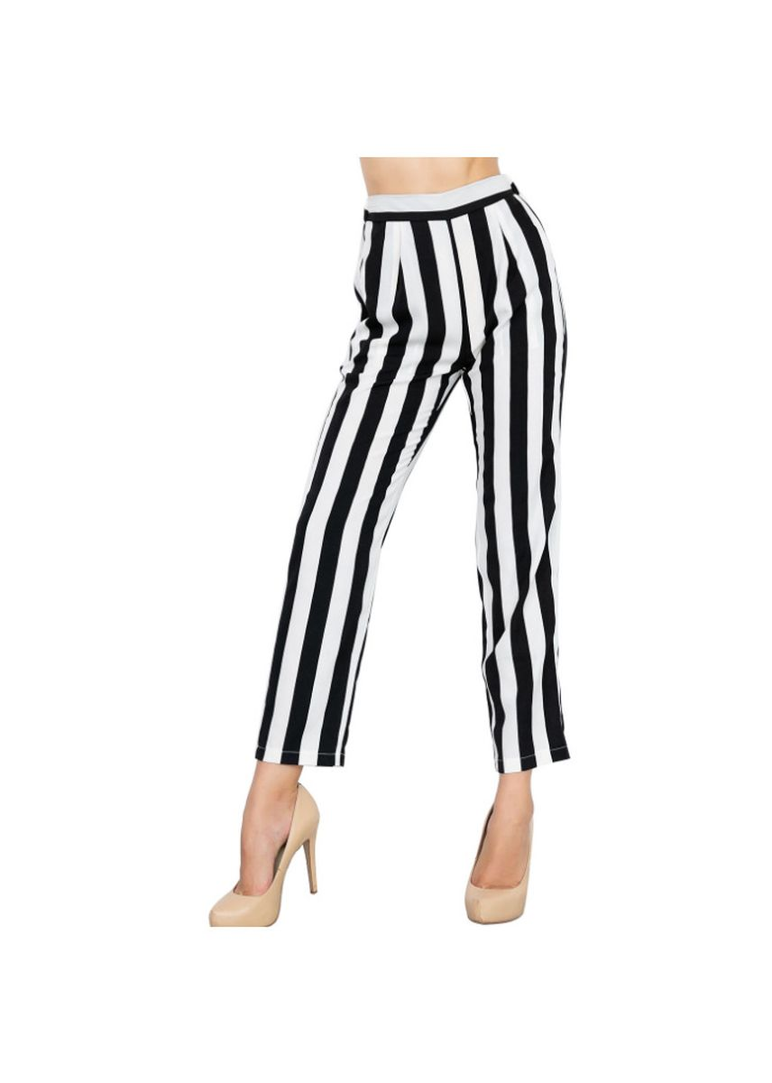 White color Trousers . Women's Premium Stretch Pants -