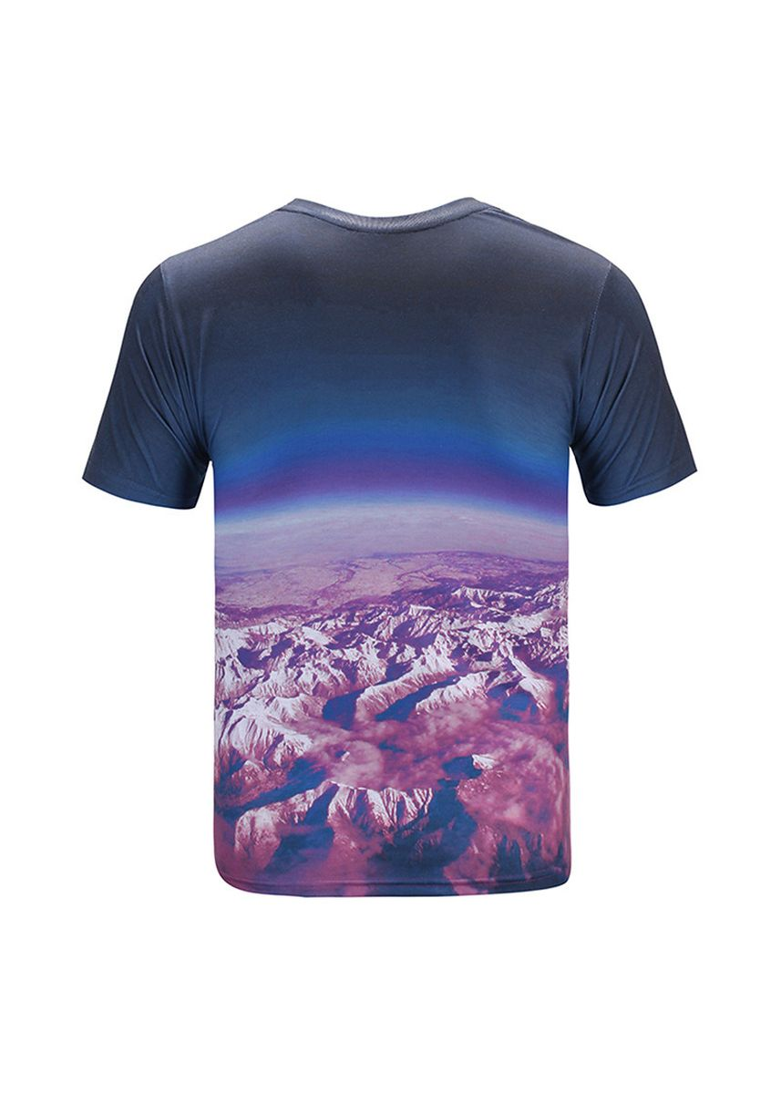 Multi color T-Shirts and Polos . Creative Personality 3 D Animated Cartoon Printed T-Shirts005 -