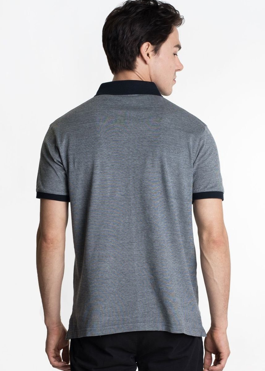 Grey color T-Shirts and Polos . Août Singapore - Mens Soft Touch Cotton Polo Shirt - Adrianne -