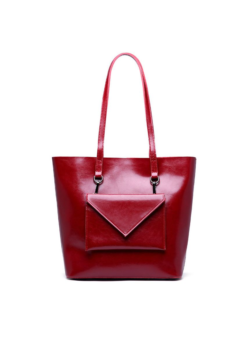Maroon color Hand Bags . Fashion Women Retro Two-piece Totes -