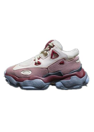 Pink color Sports Shoes . Women's Elevated Sports Shoes -