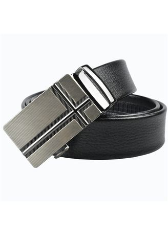 Black color Belts . Men's Automatic Belt Buckle -