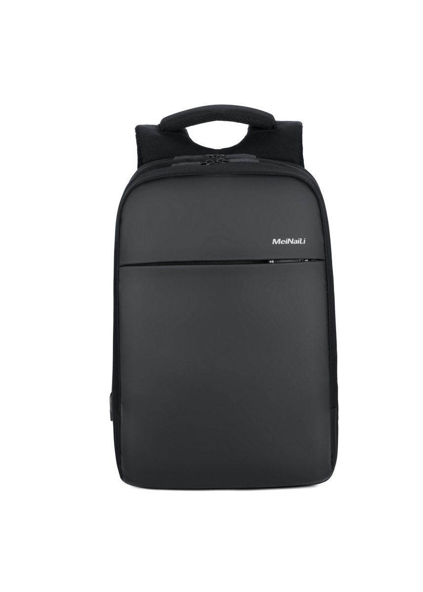 Black color Backpacks . USB Anti-theft Business Computer Backpack Travel Waterproof -