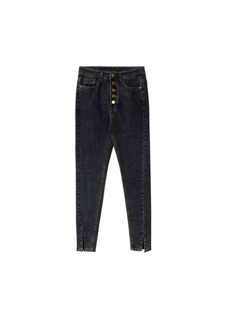 Jeans . High waist and slim jeans -