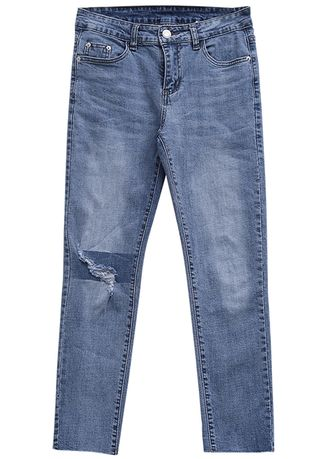 Jeans . Burrowed casual jeans for men -