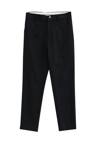 Formal Trousers . Black Personality Casual Pants Male -