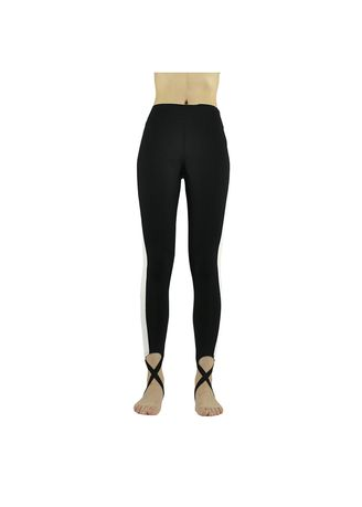 Black color Leggings . Nine Points Of Tall Waist Trample Feet Leisure Yoga Pants -