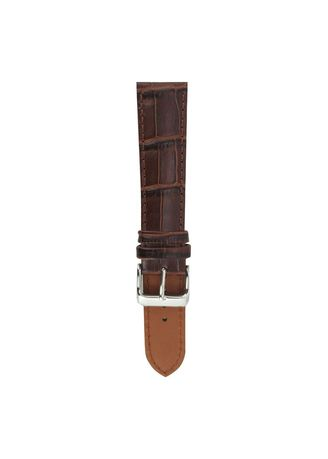 . Aries Gold Croco Ag-L0002 Leather Strap -