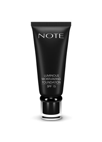 Beige color Face . Note Luminous Moisturizing Foundation - 04 Sand -