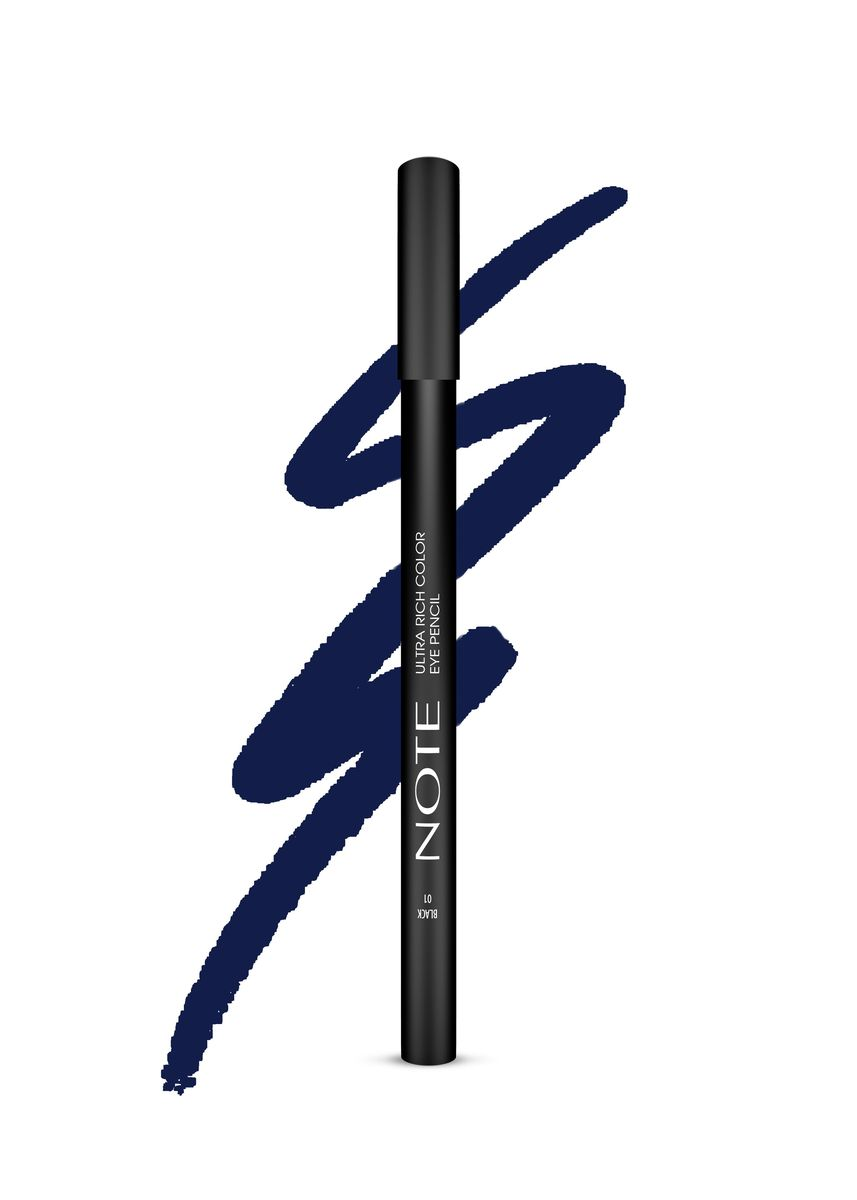 Blue color Eyes . Note Ultra Rich Color Eye Pencil - 10 Utramari -