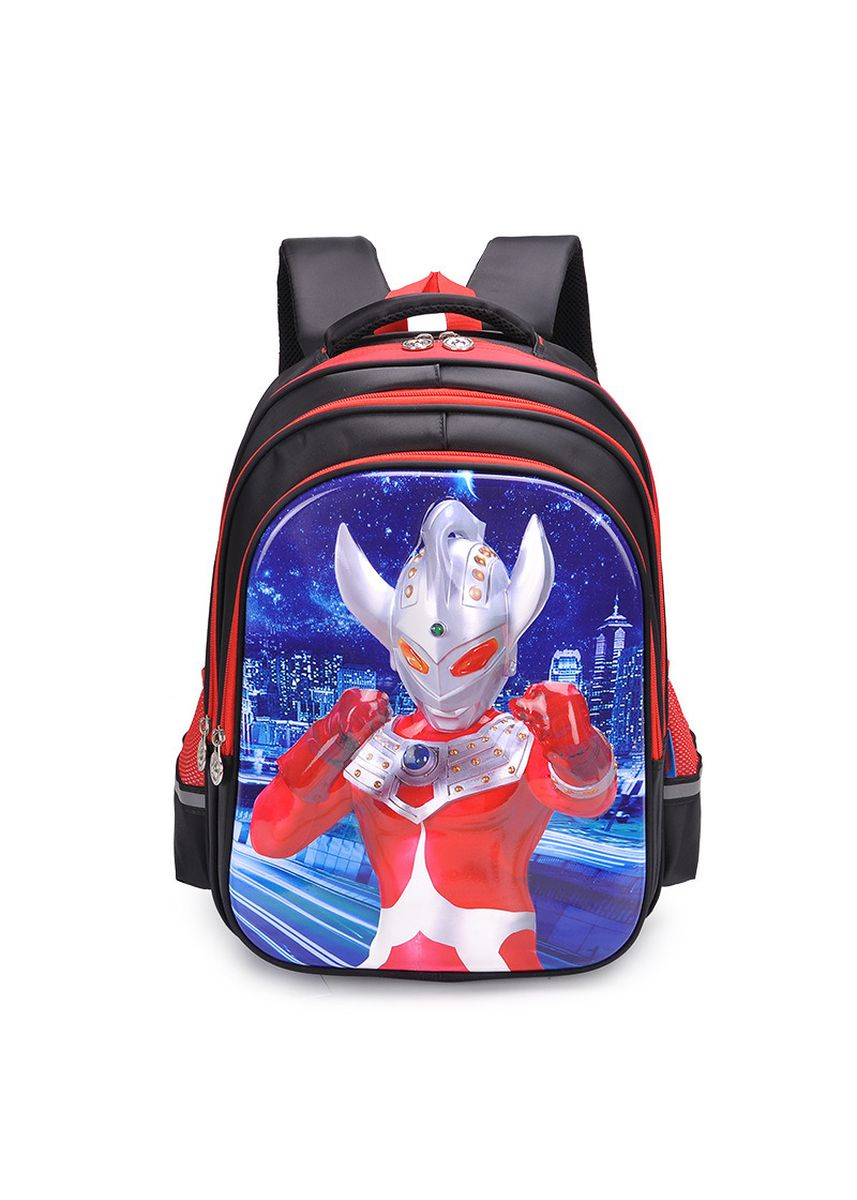 Black color Bags . Salted Egg Superman Tyro Altman 1-5 Grade Children's Schoolbag -